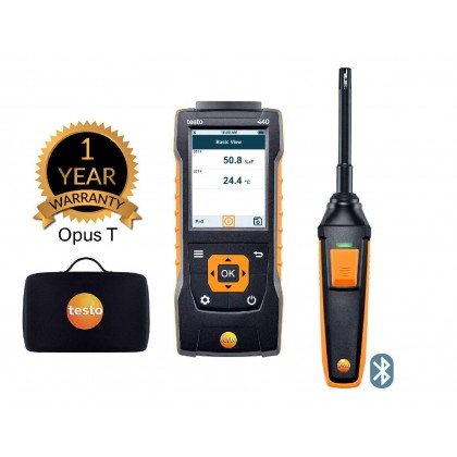 testo 440 Humidity Kit with Bluetooth