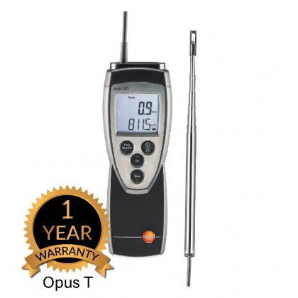 testo 425 - Thermal anemometer with flow probe