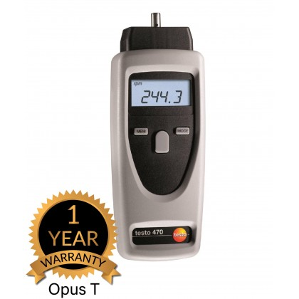 testo 470 - tachometer