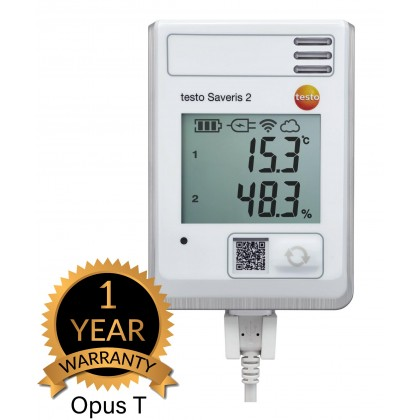 testo Saveris 2-H1 - WiFi data logger with display and integrated temperature and humidity probe