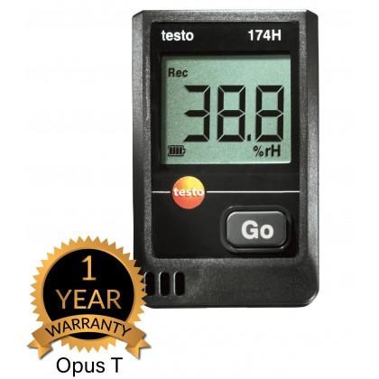 testo 174 H - Temperature and humidity mini data logger