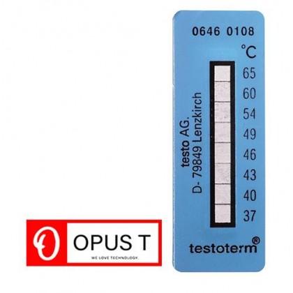 Temperature strips  (+37 °C to +65 °C)