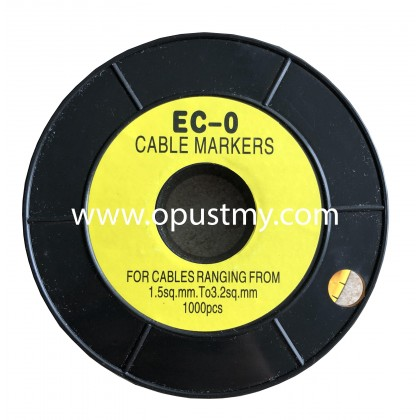 OpusT CABLE MARKERS EC-0 ALPHABET (100pcs/pack) (A to P)