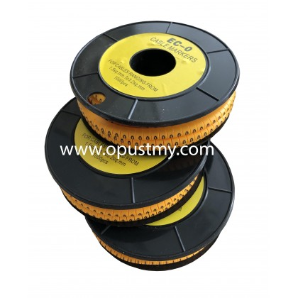 OpusT CABLE MARKERS EC-0 NUMBER (100pcs/pack) (0 to 9)