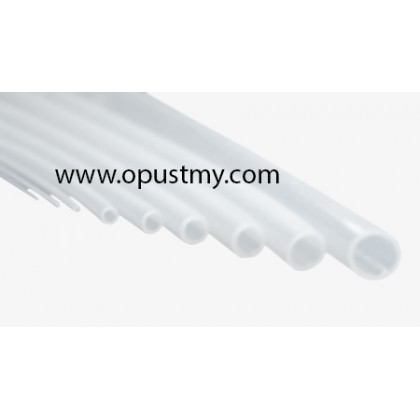 OpusT Silicon Tubing, 2mm(ID) x 4mm(OD) x  10meter, Food and Pharma Grade, Peristaltic Pump Compatible