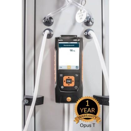 testo 440 dP - Air velocity and IAQ measuring instrument including differential pressure sensor